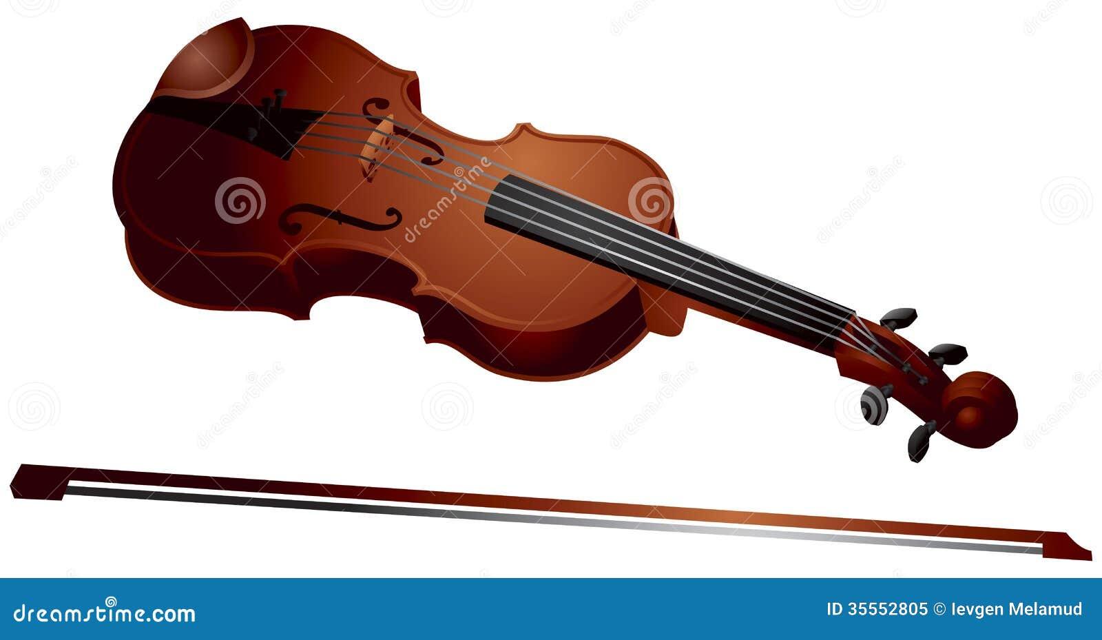 Violin Bow Clipart Violin Royalty Free Stock