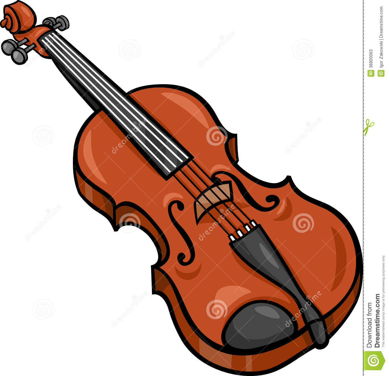 violin cartoon illustration clip art stock vector illustration of rh dreamstime com  fiddle clipart black and white