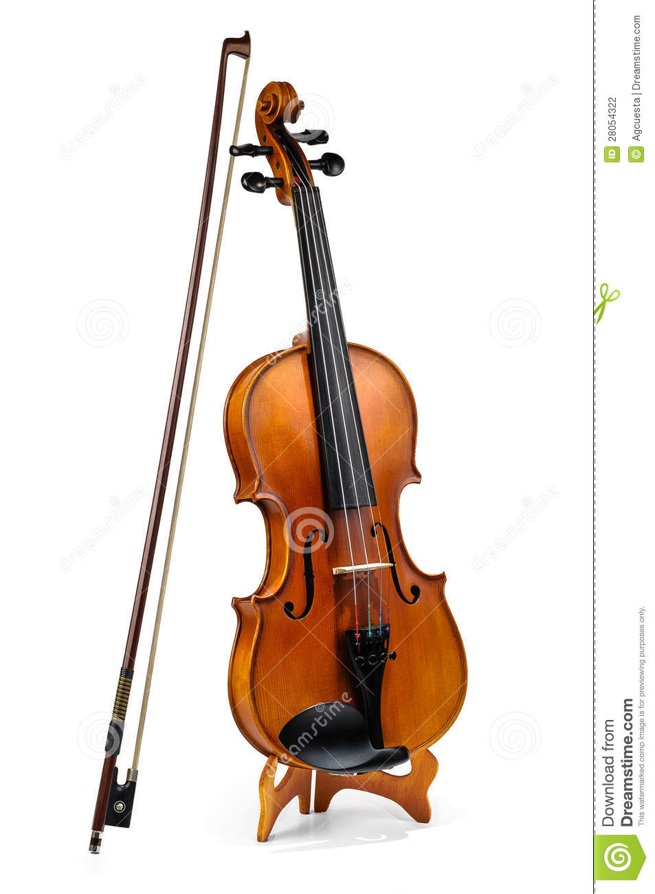 violin and fiddle stick stock photo. image of fiddle - 28054322