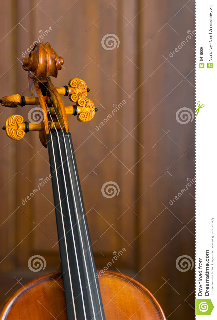 Violin Neck stock photo  Image of musical, string, necks