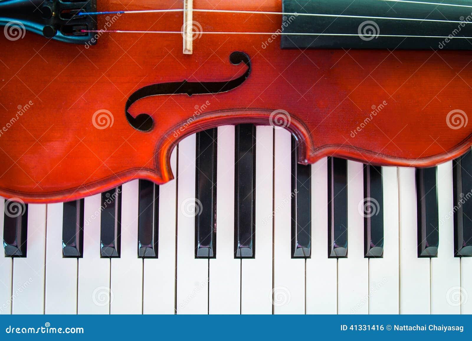 VIolin On Piano