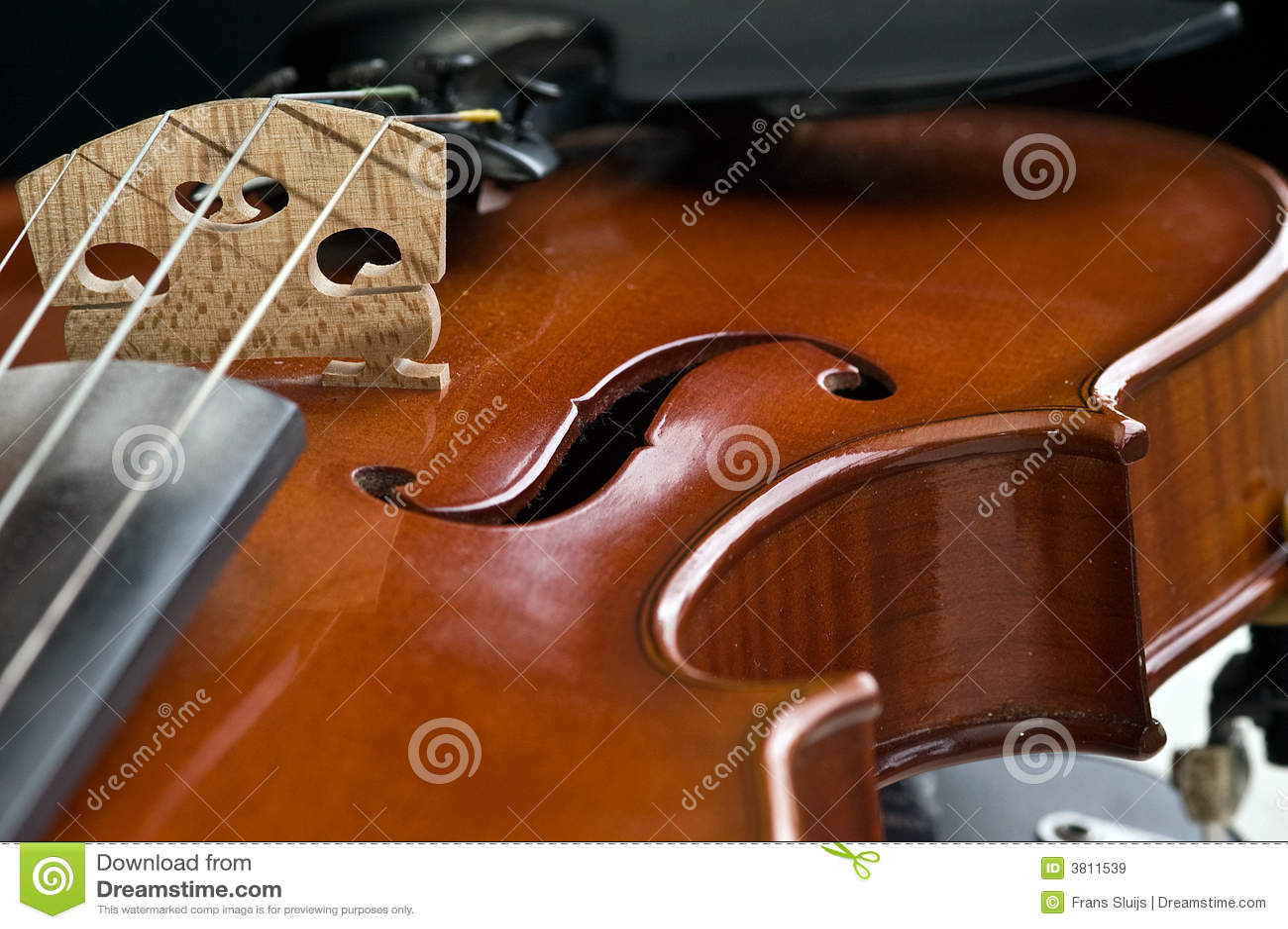 Violinennahaufnahme
