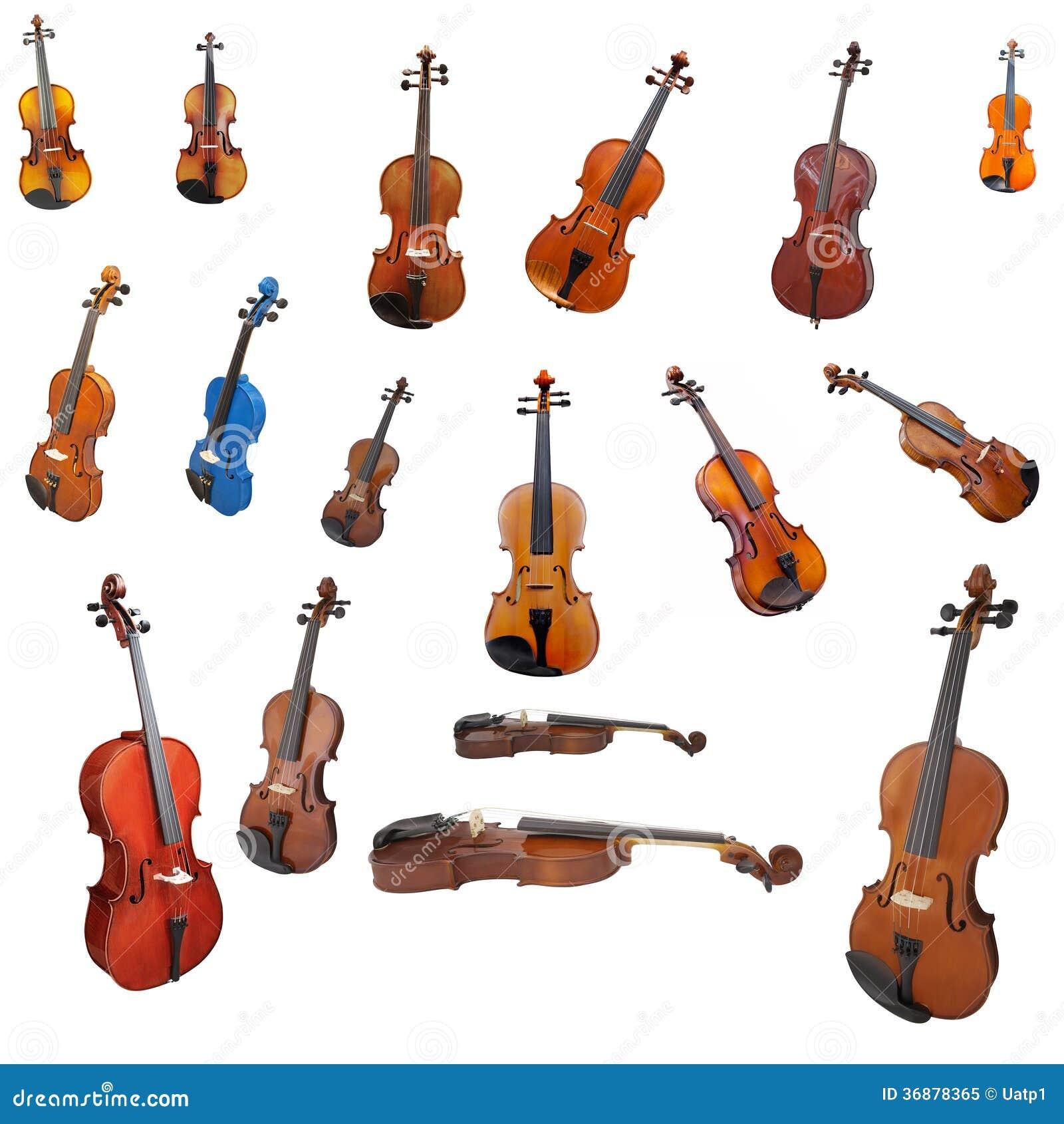 Download Violini e un archetto immagine stock. Immagine di arti - 36878365