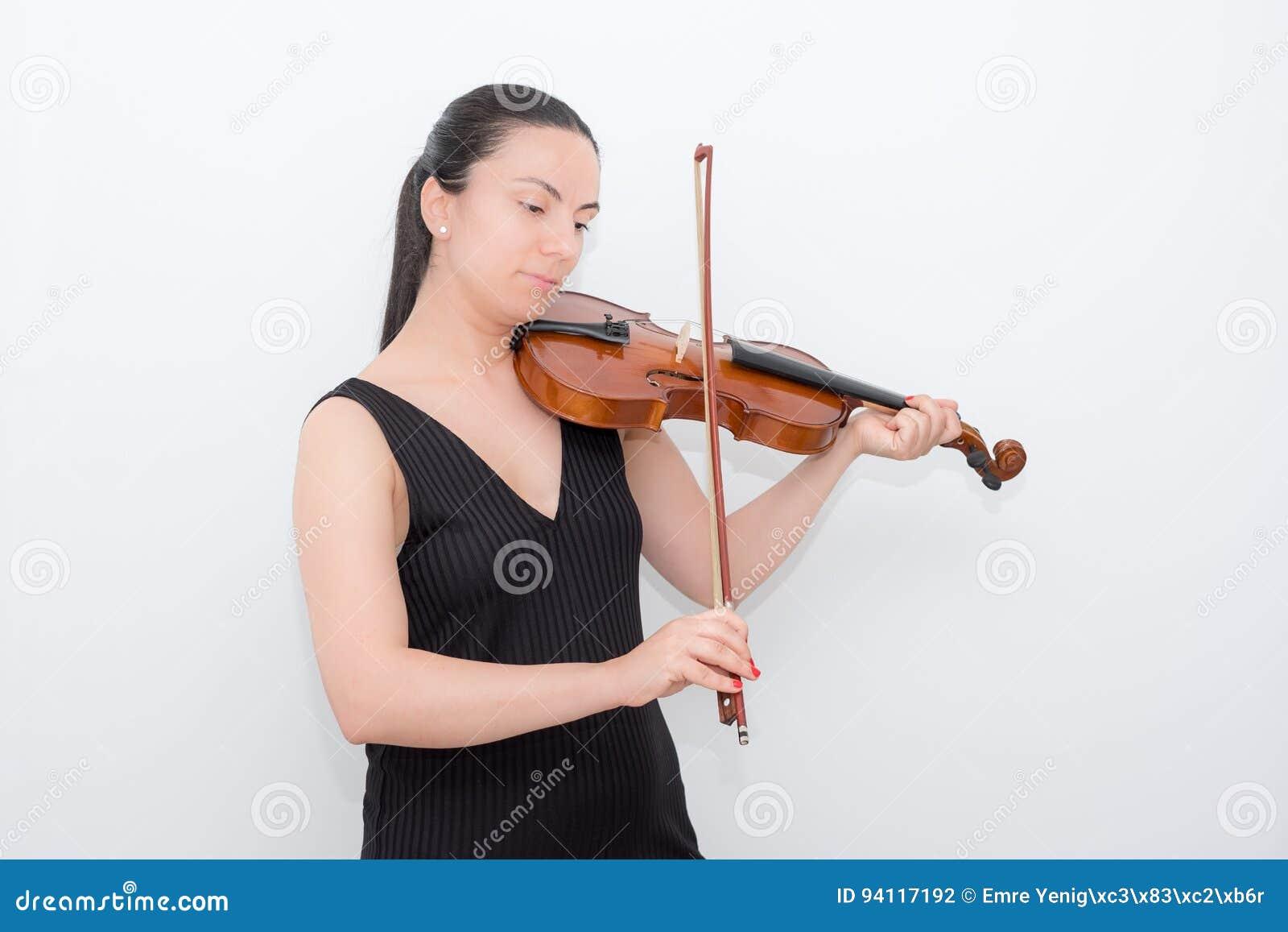 Violino da mulher