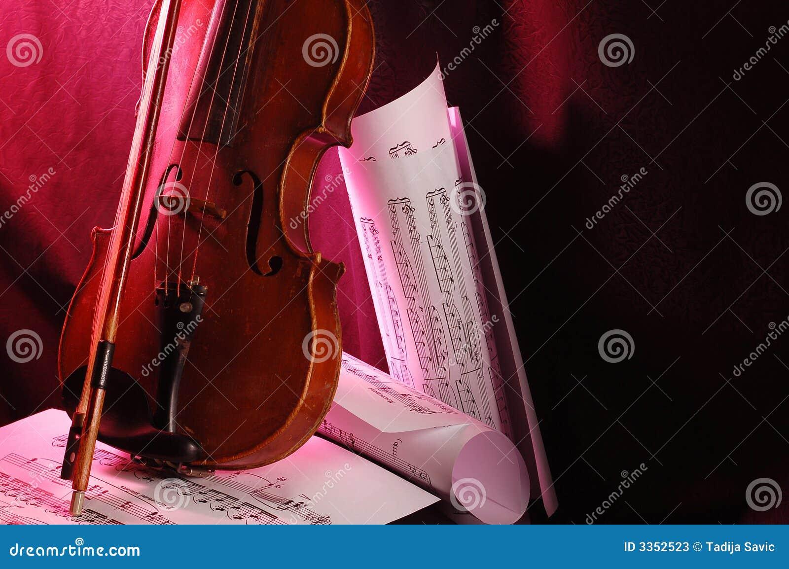 Violino e nota