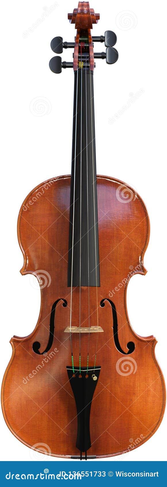 Violino, instrumento musical da corda, isolado, música