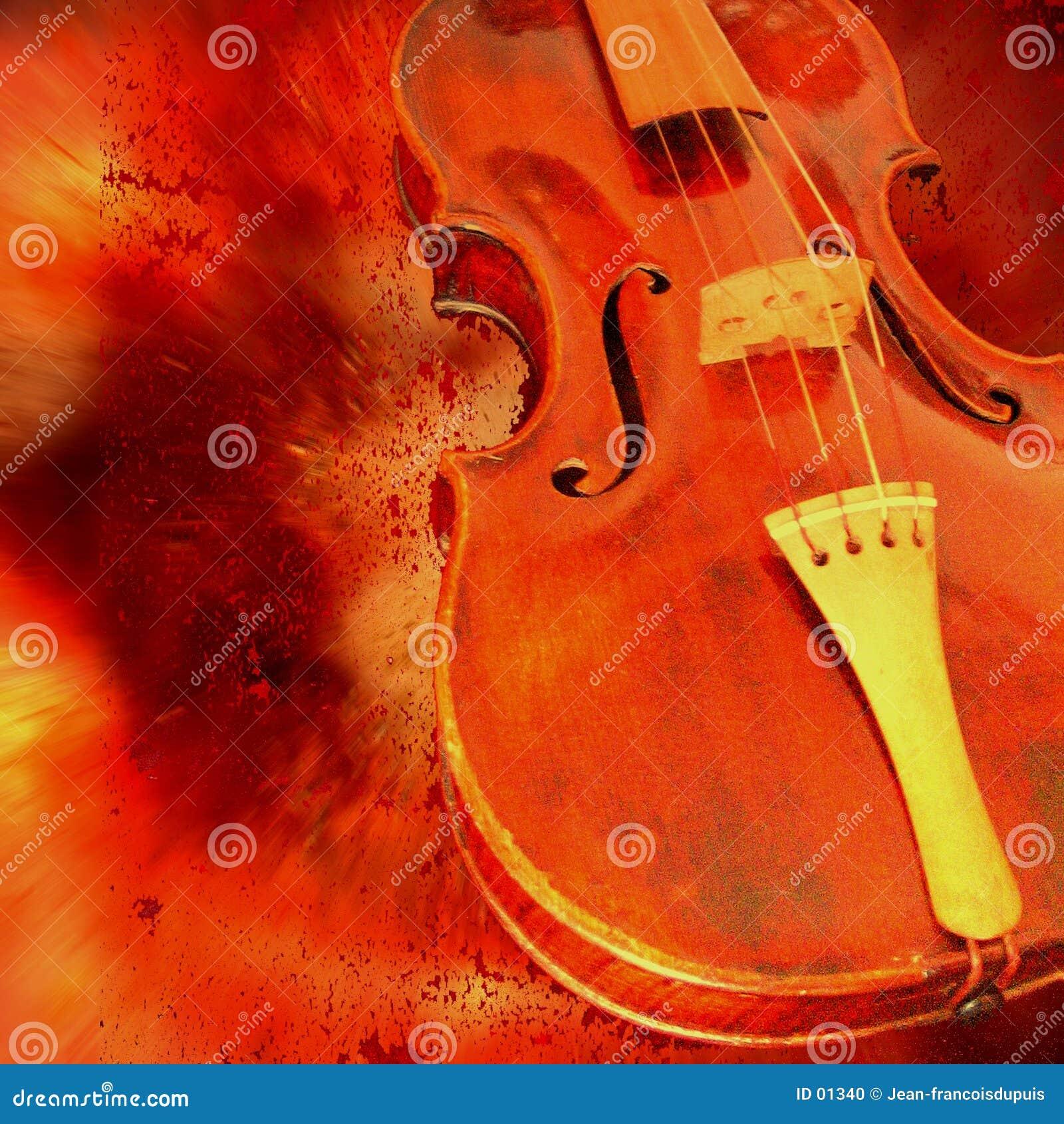 Violino rosso