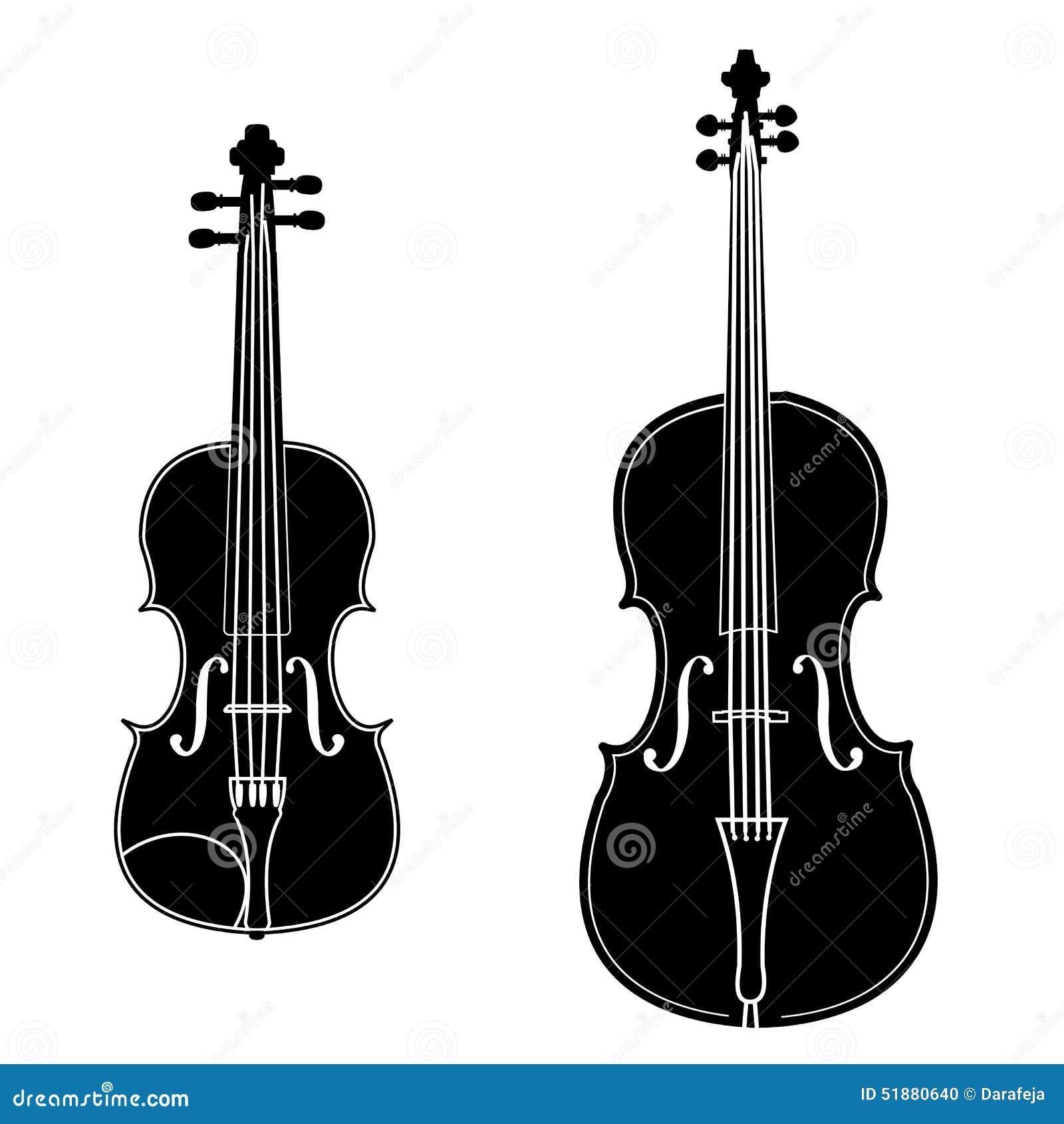 Violin Graphic Designs