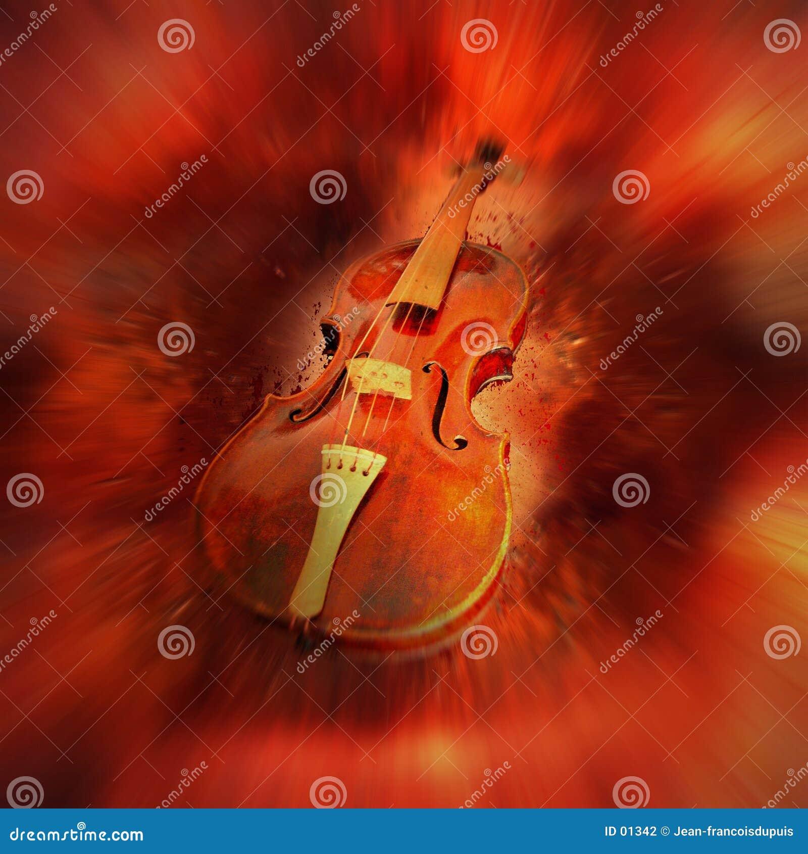 Violon rouge