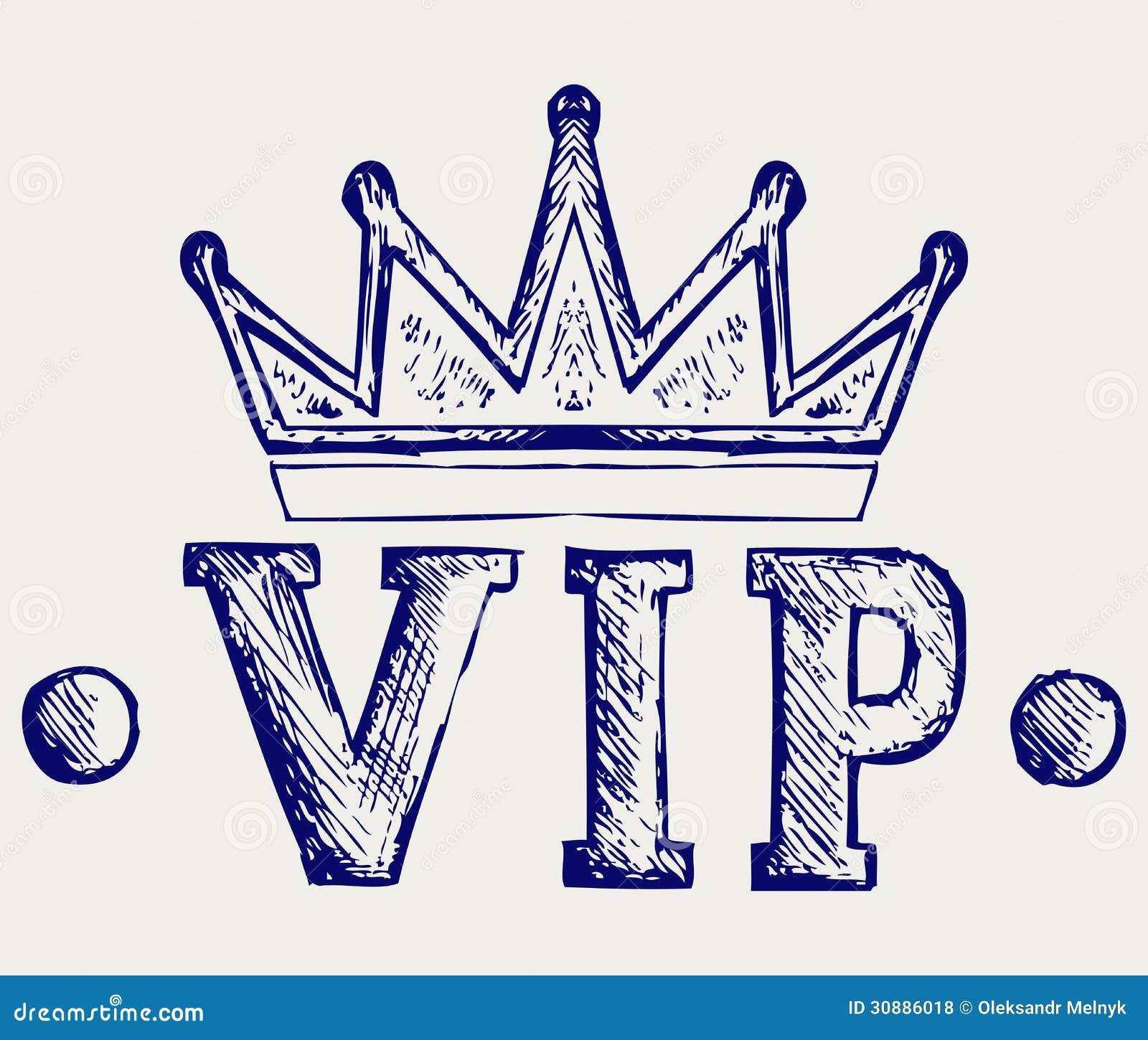 Vip冠标志