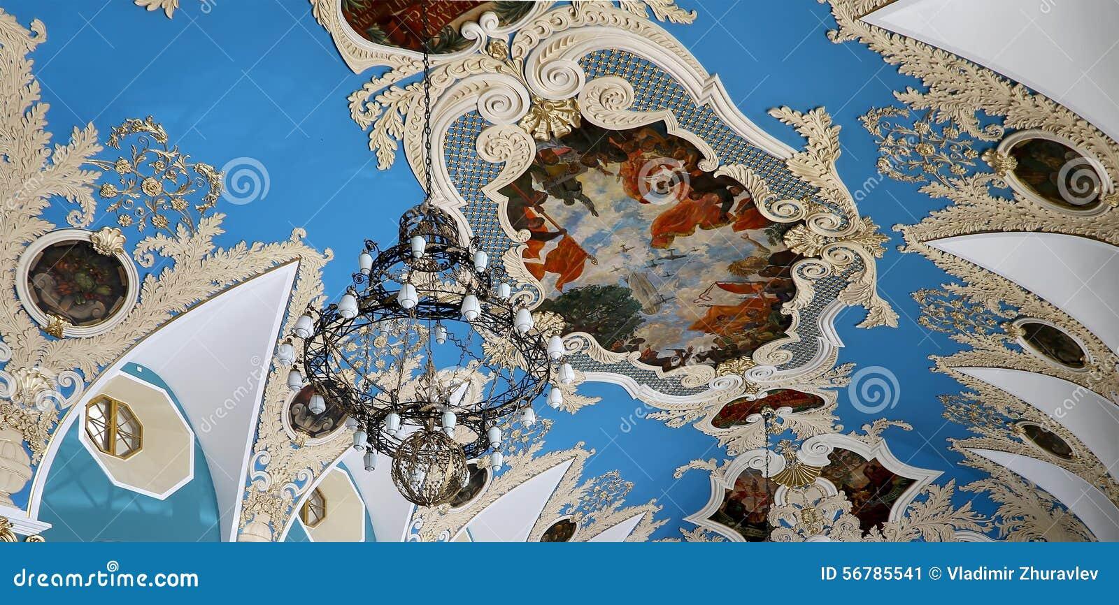 VIP-αίθουσα ή ένας υψηλότερος σταθμός Kazansky άνεσης δωματίων σιδηροδρομικός (Kazansky vokzal)--είναι ένα από εννέα τερματικά σι