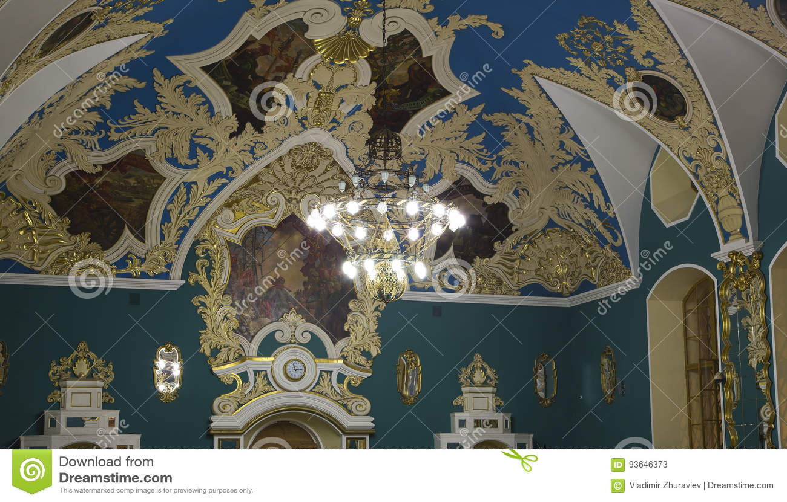 VIP-αίθουσα ή ένας υψηλότερος σταθμός Kazansky Kazansky άνεσης δωματίων σιδηροδρομικός vokzal --είναι ένα από εννέα τερματικά σιδ