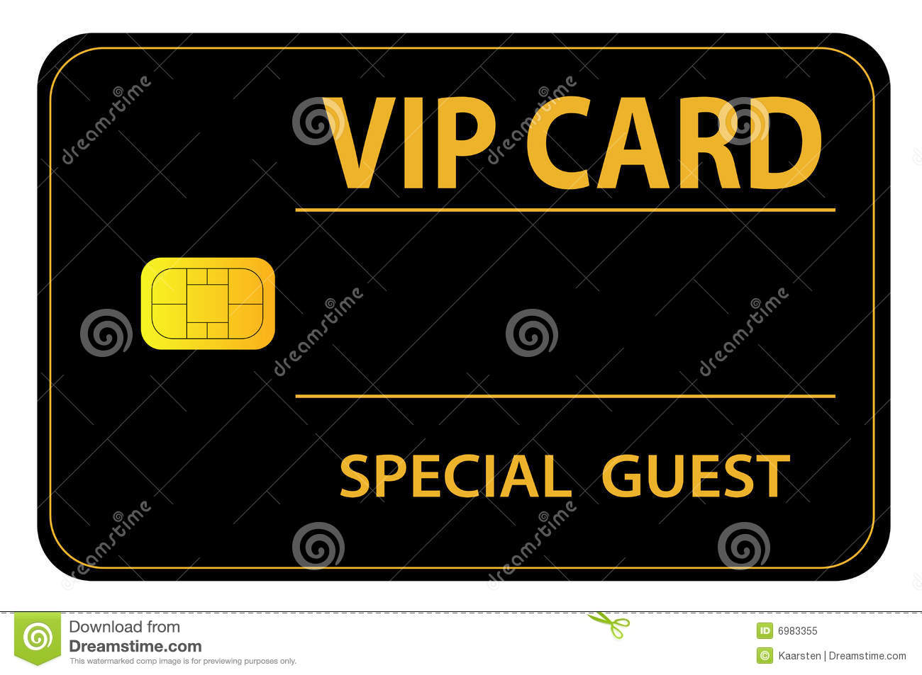 VIP Card Royalty Free Stock Photo - Image: 6983355