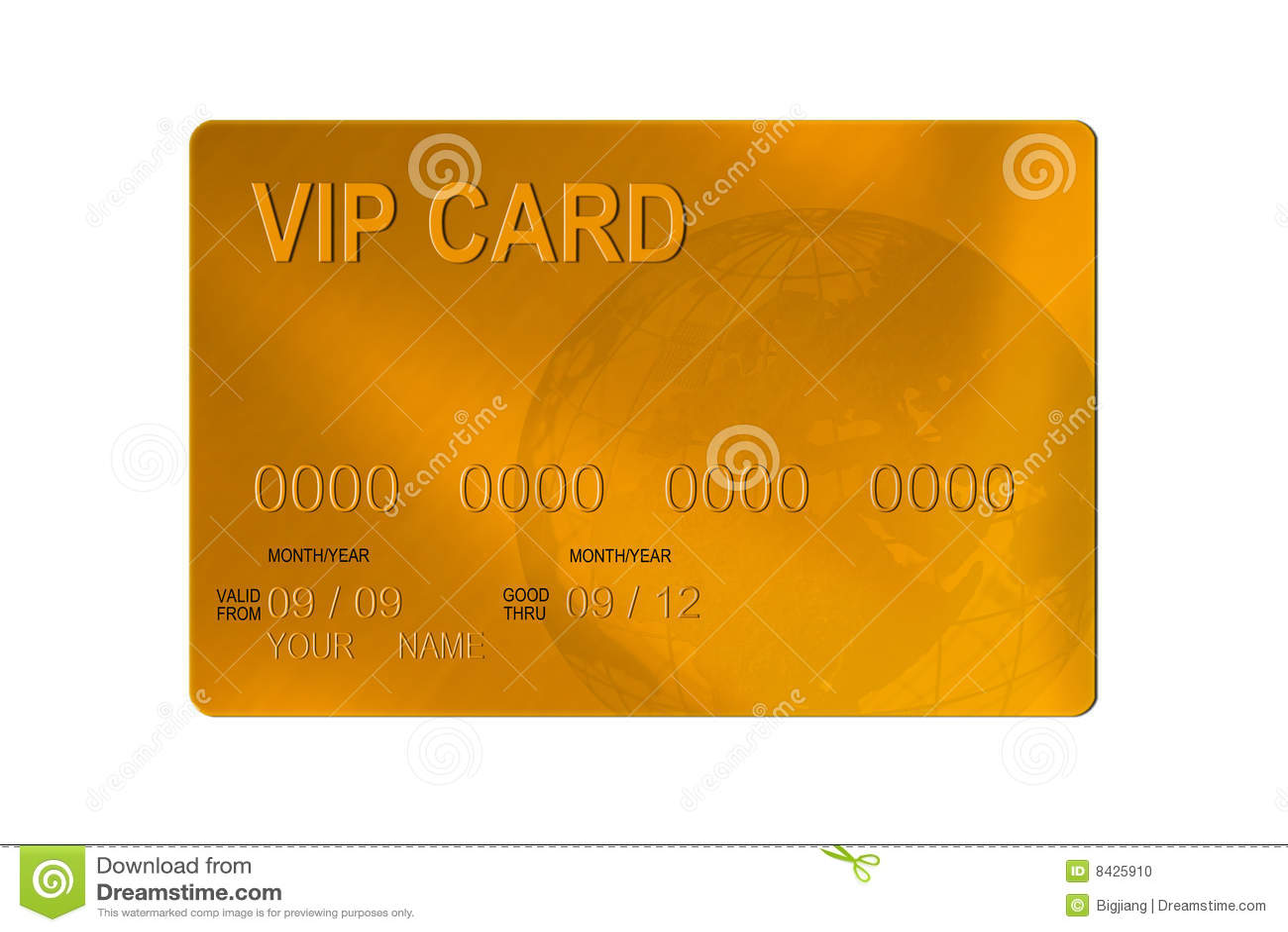 VIP de la tarjeta de crédito
