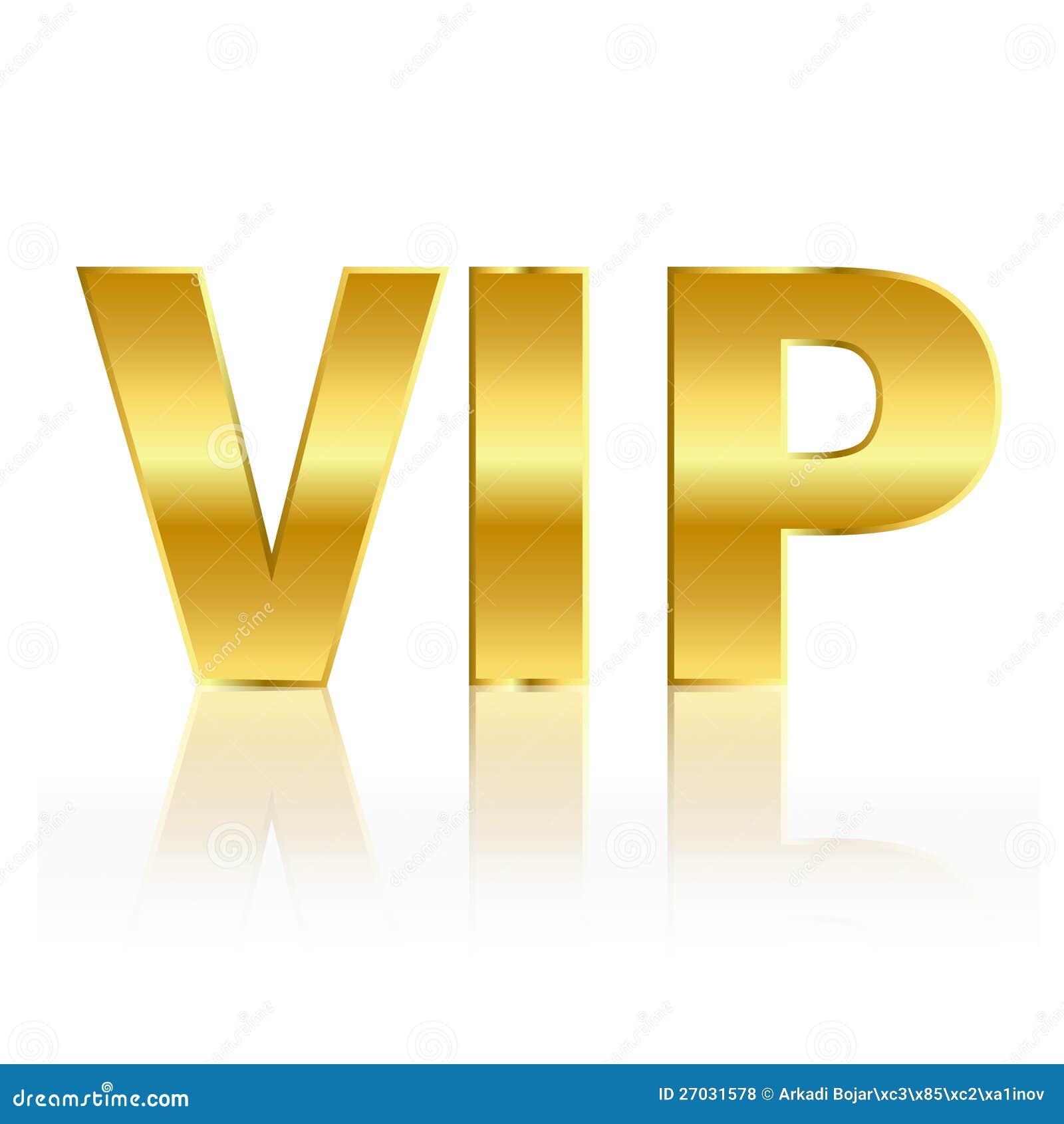 Vip Gold Symbol Royalty Free Stock Photos - Image: 27031578