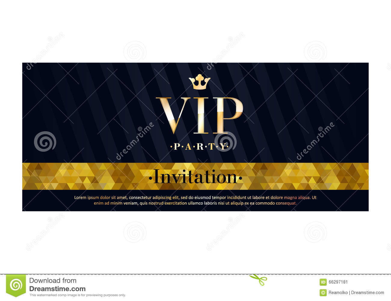 Vip invitation card premium design template stock vector vip invitation card premium design template stopboris Image collections