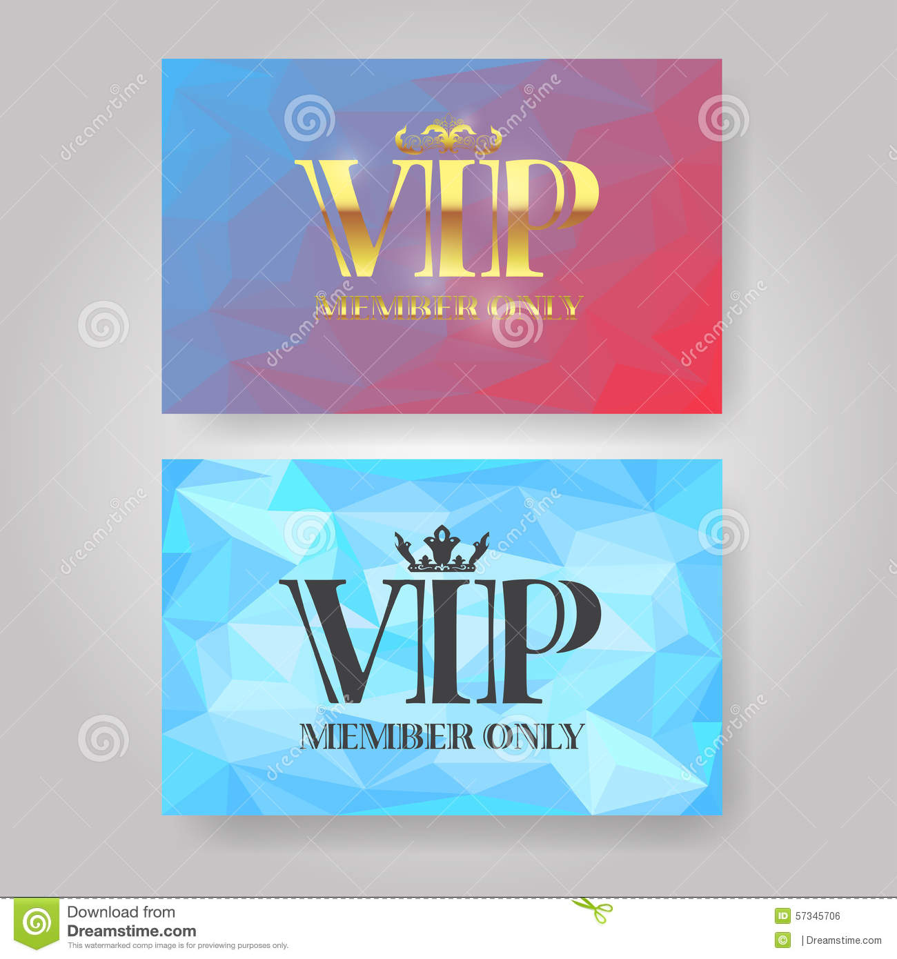 VIP Member Card Design Template  Membership Card Design