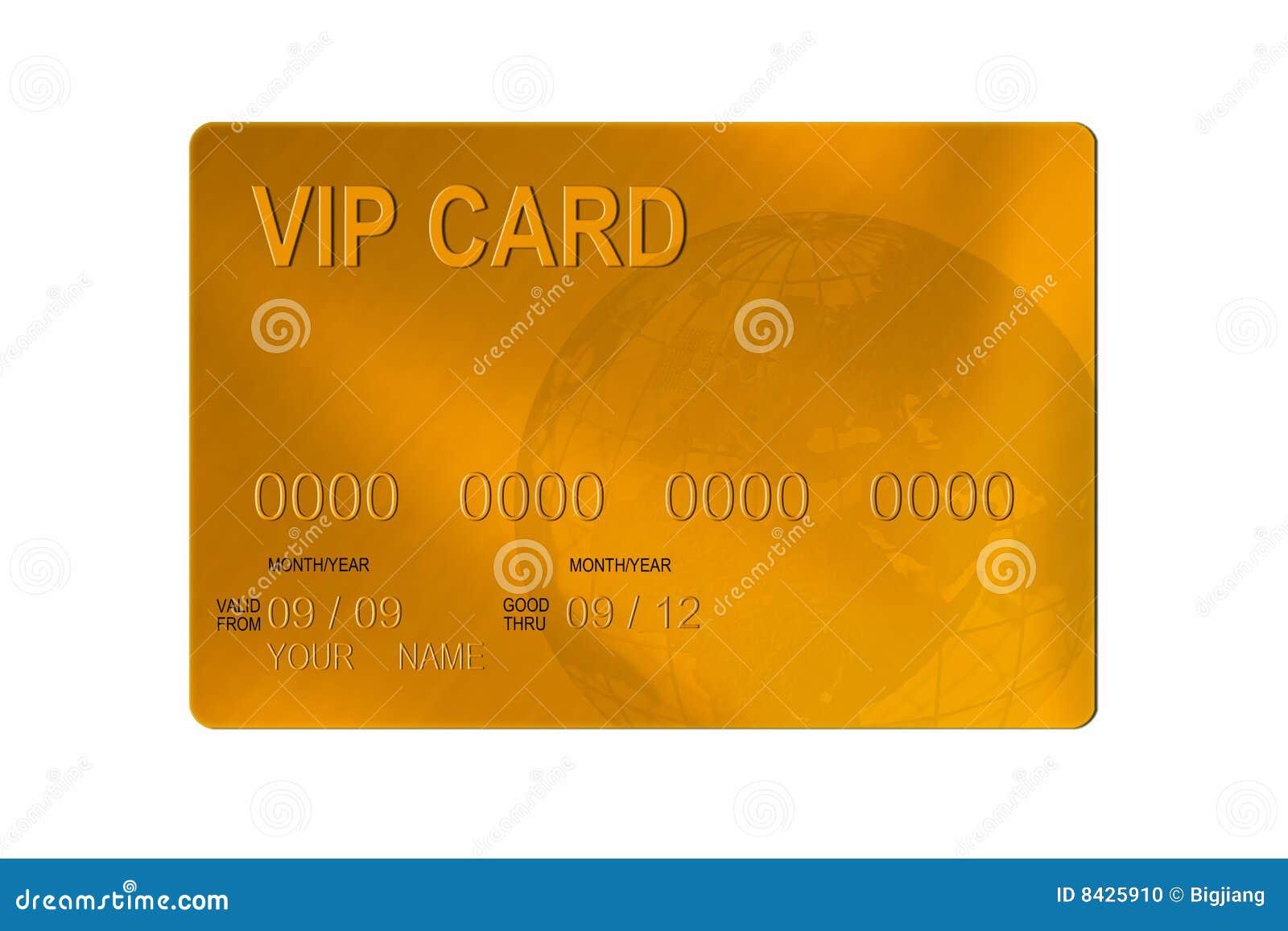 VIP par la carte de crédit