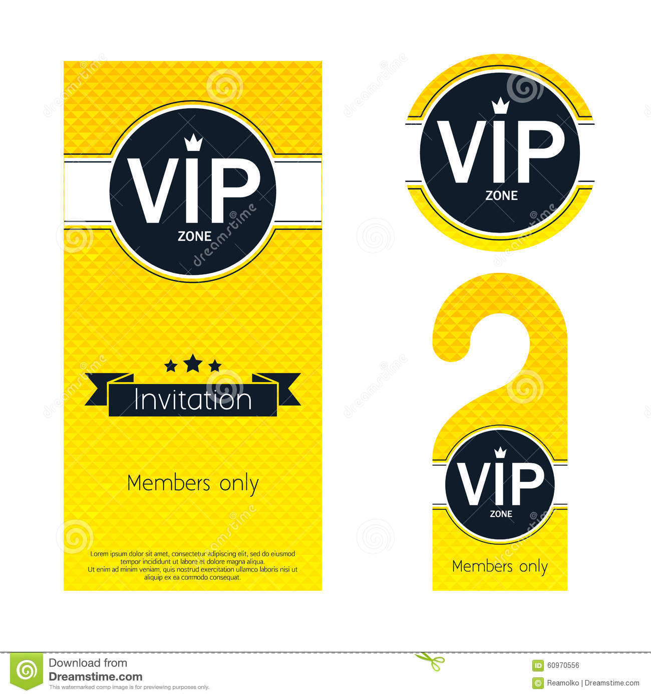 Vip party invitation card warning hanger and stock vector download vip party invitation card warning hanger and stock vector illustration of letter spiritdancerdesigns Image collections