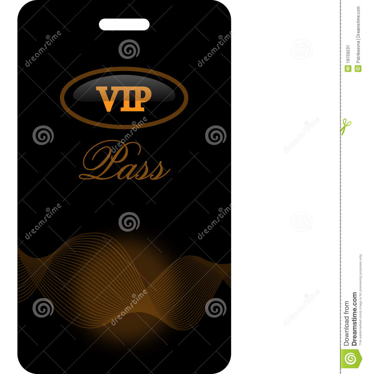 Vip Invitation Template  Free Vip Pass Template