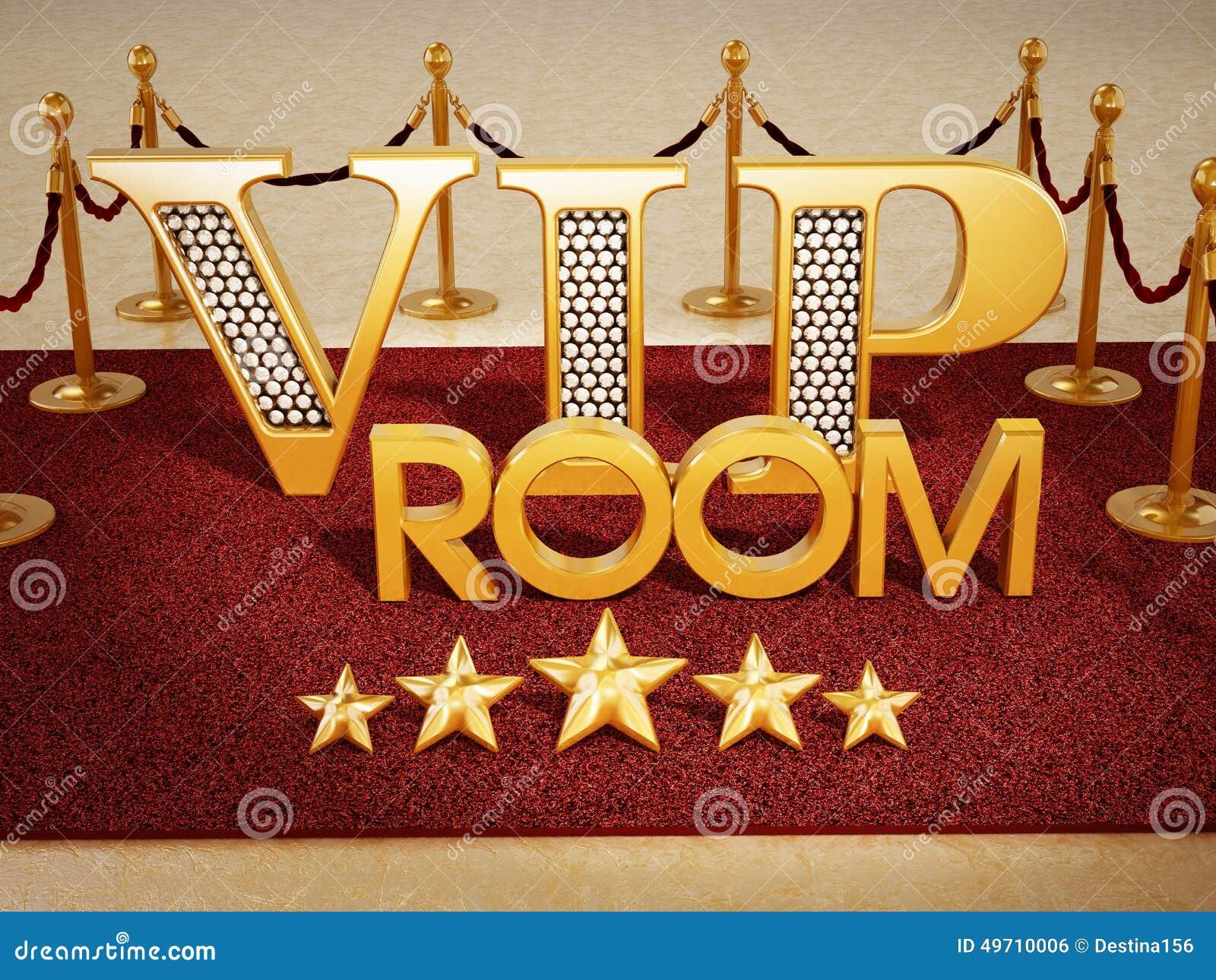 Vip Room Stock Photo Image 49710006