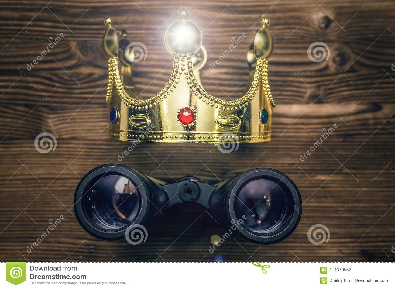 Vip search  stock photo  Image of above, gold, crown - 114370552