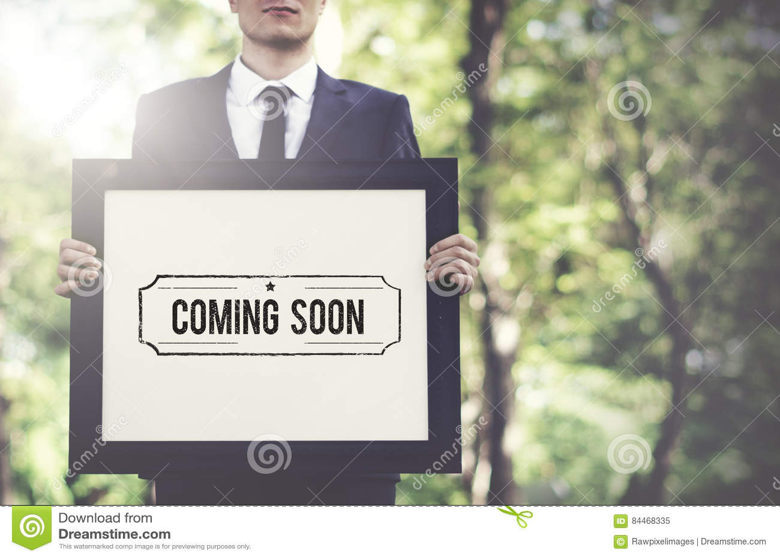 Vir logo anuncia o conceito alerta do anúncio