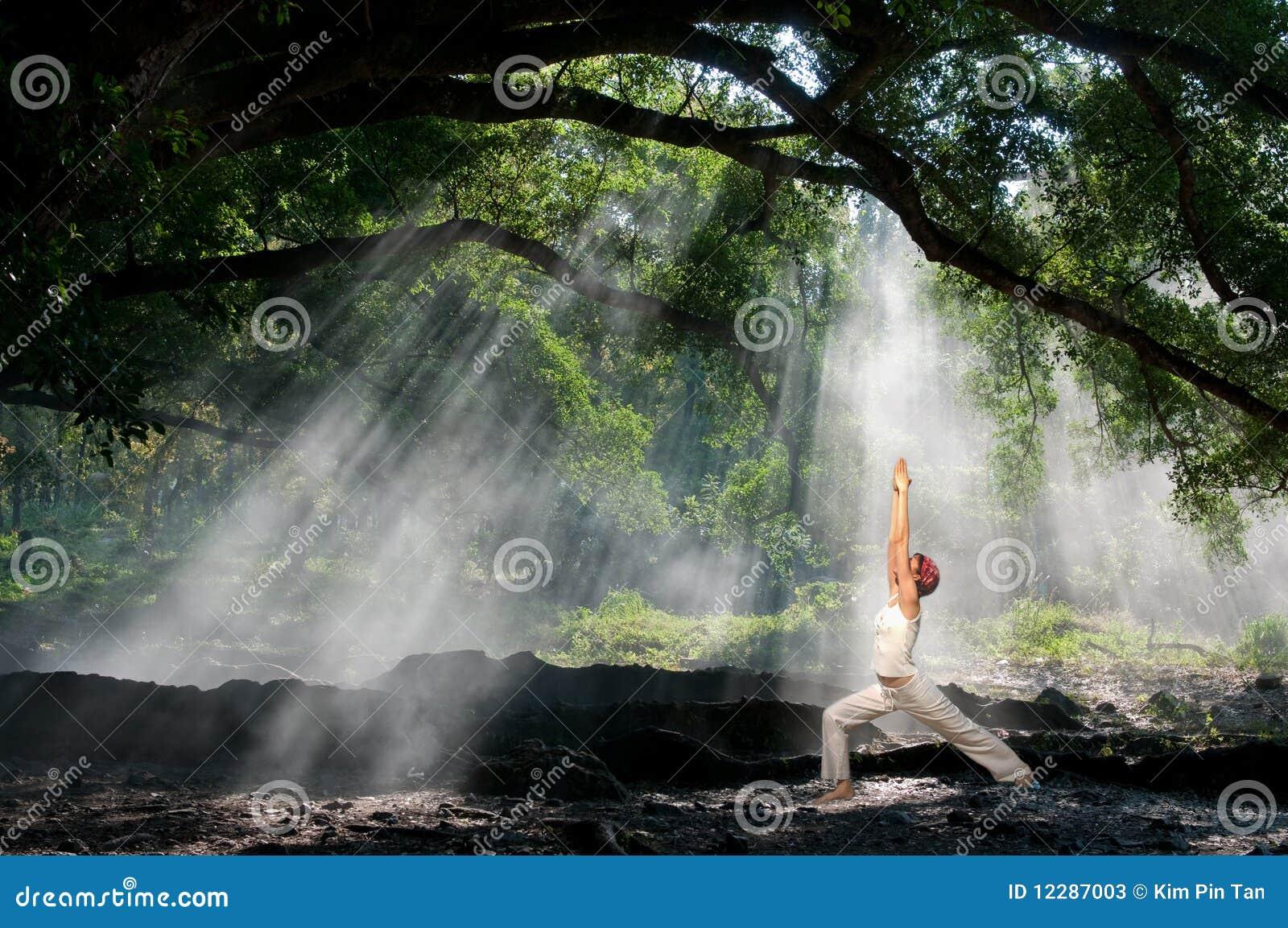 Virabhadrasana, yoga de hatha