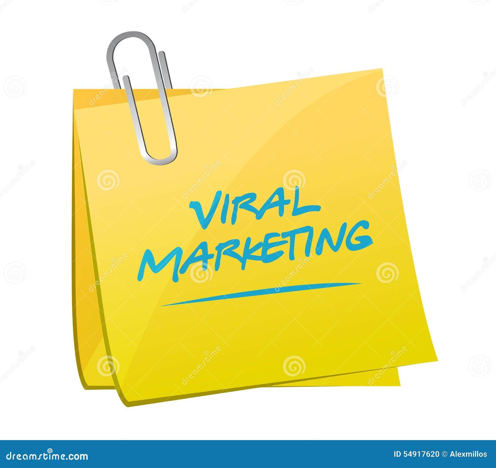 Viral Times Web: Viral Marketing Post Sign Concept Illustration Stock