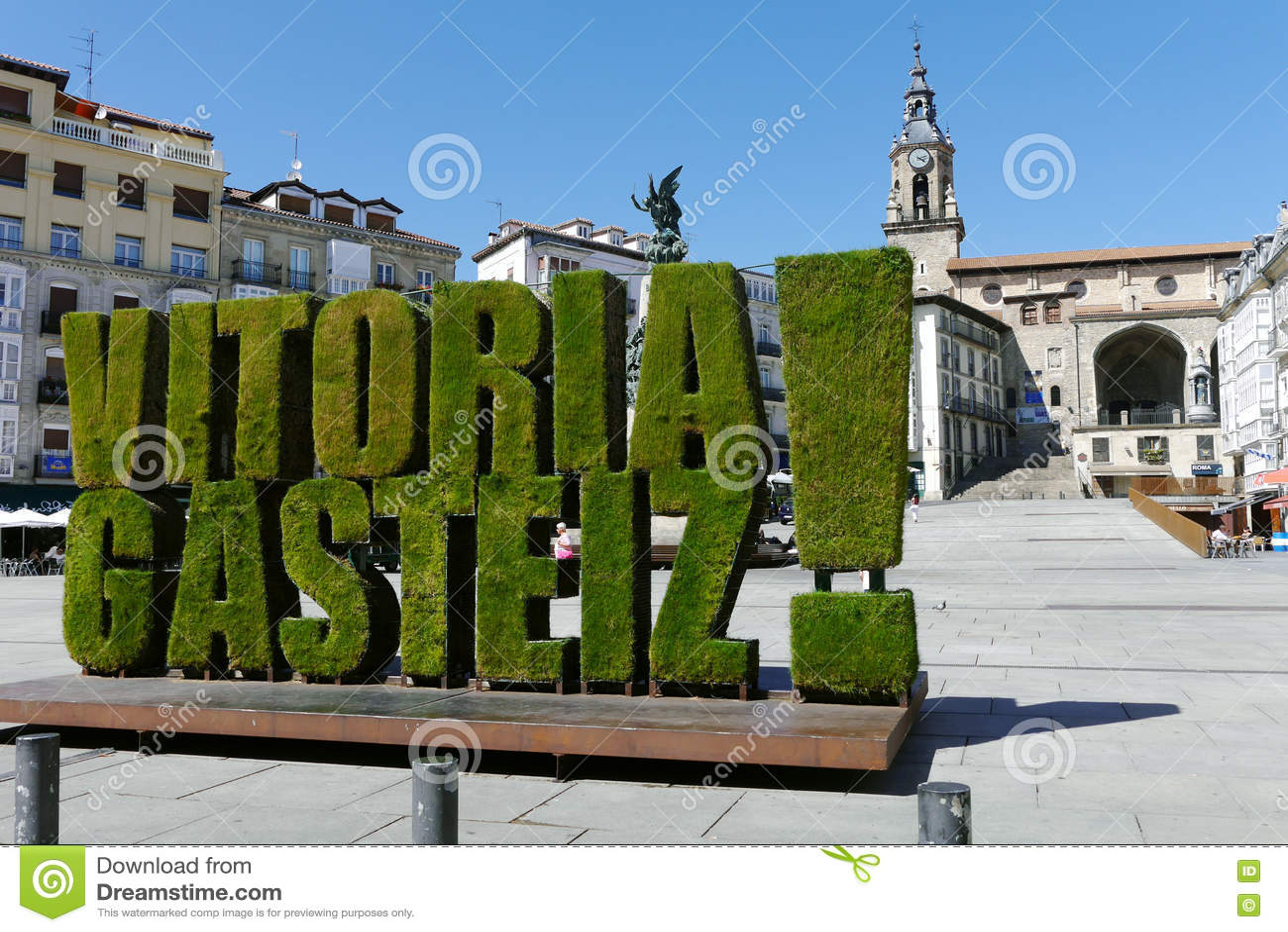 Virgen BLANCA, Vitoria Gasteiz, Baskenland, Spanien