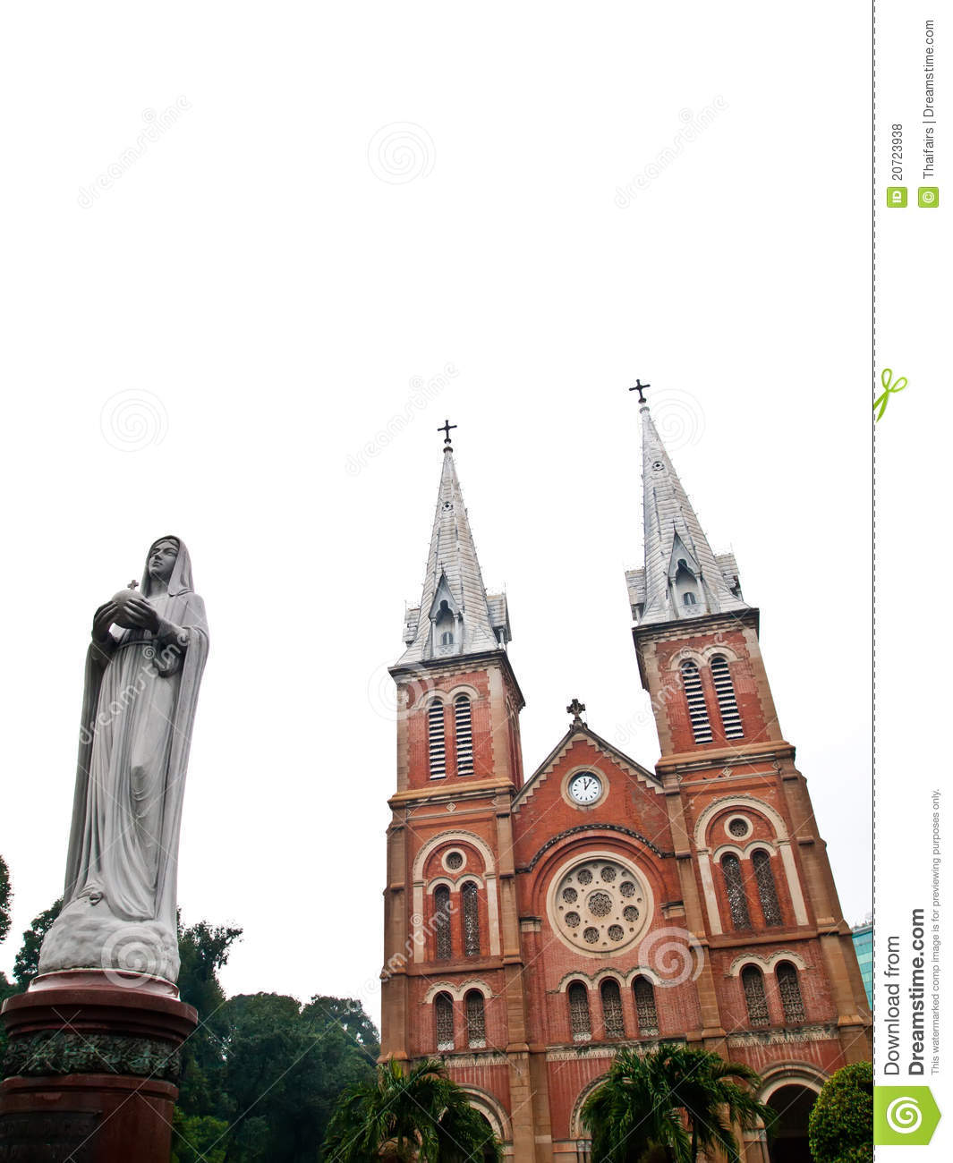 Virgin Вьетнама notre minh mary ho dame города хиа