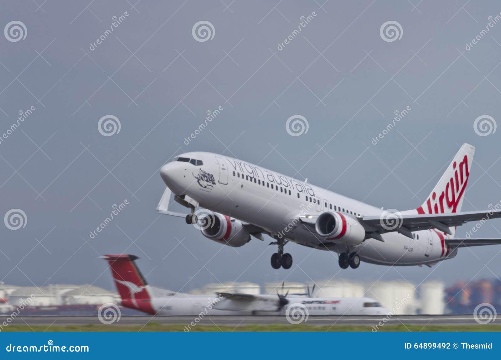 Virgin Australia Takeoff editorial photography  Image of