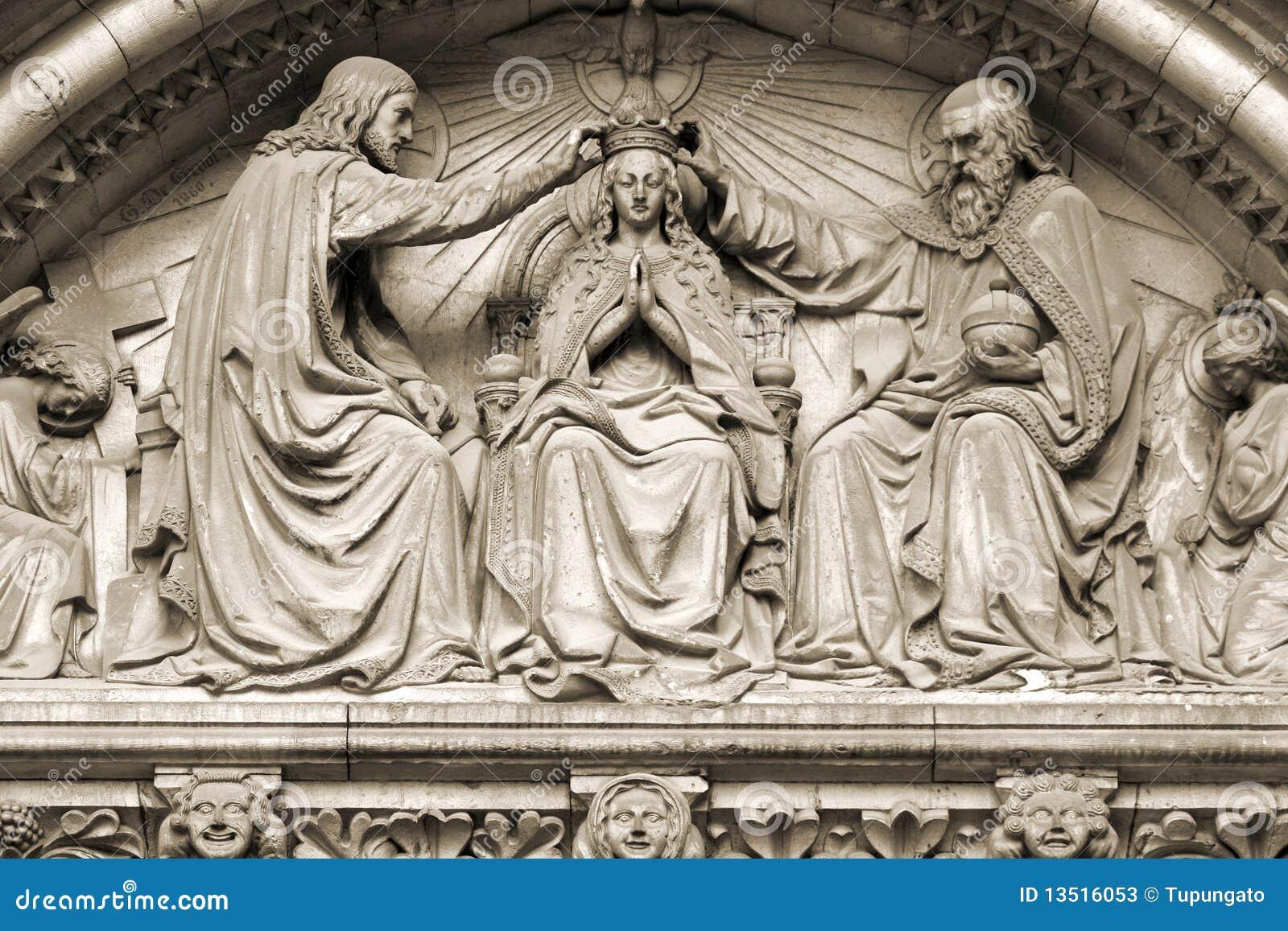 Virgin mary коронования