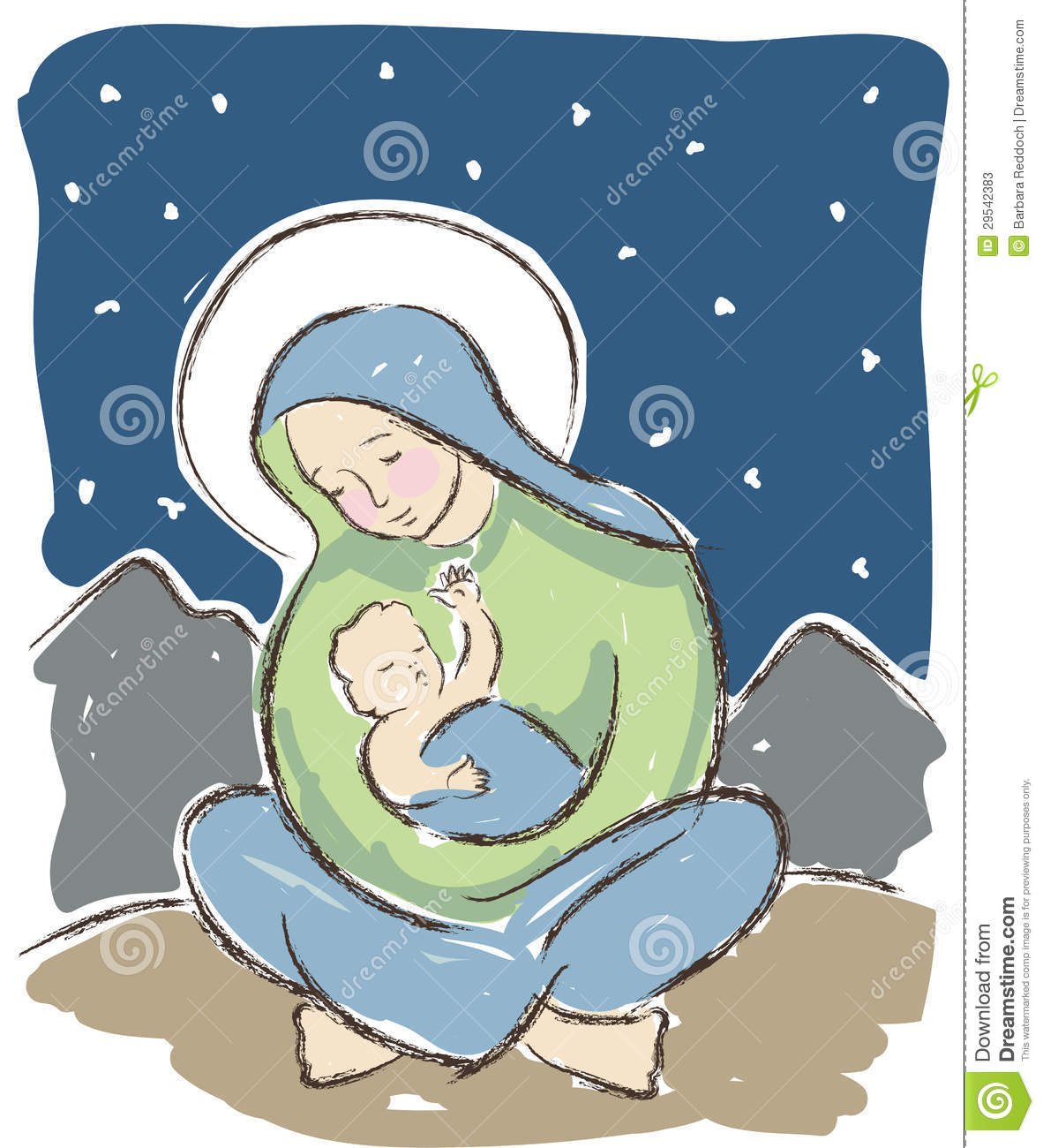 Catholic Child Veneration Of Church Jesus Queen Clipart - Blessed Mother  Virgin Mary, HD Png Download - kindpng
