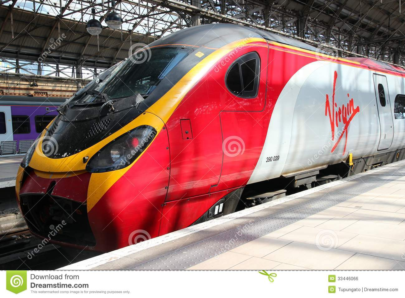 virgin trains editorial photo   image 33446066