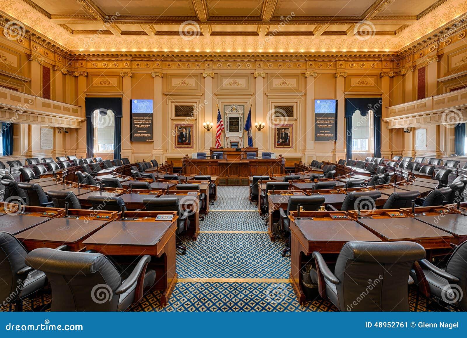 Virginia House Chamber Editorial Photo Image 48952761