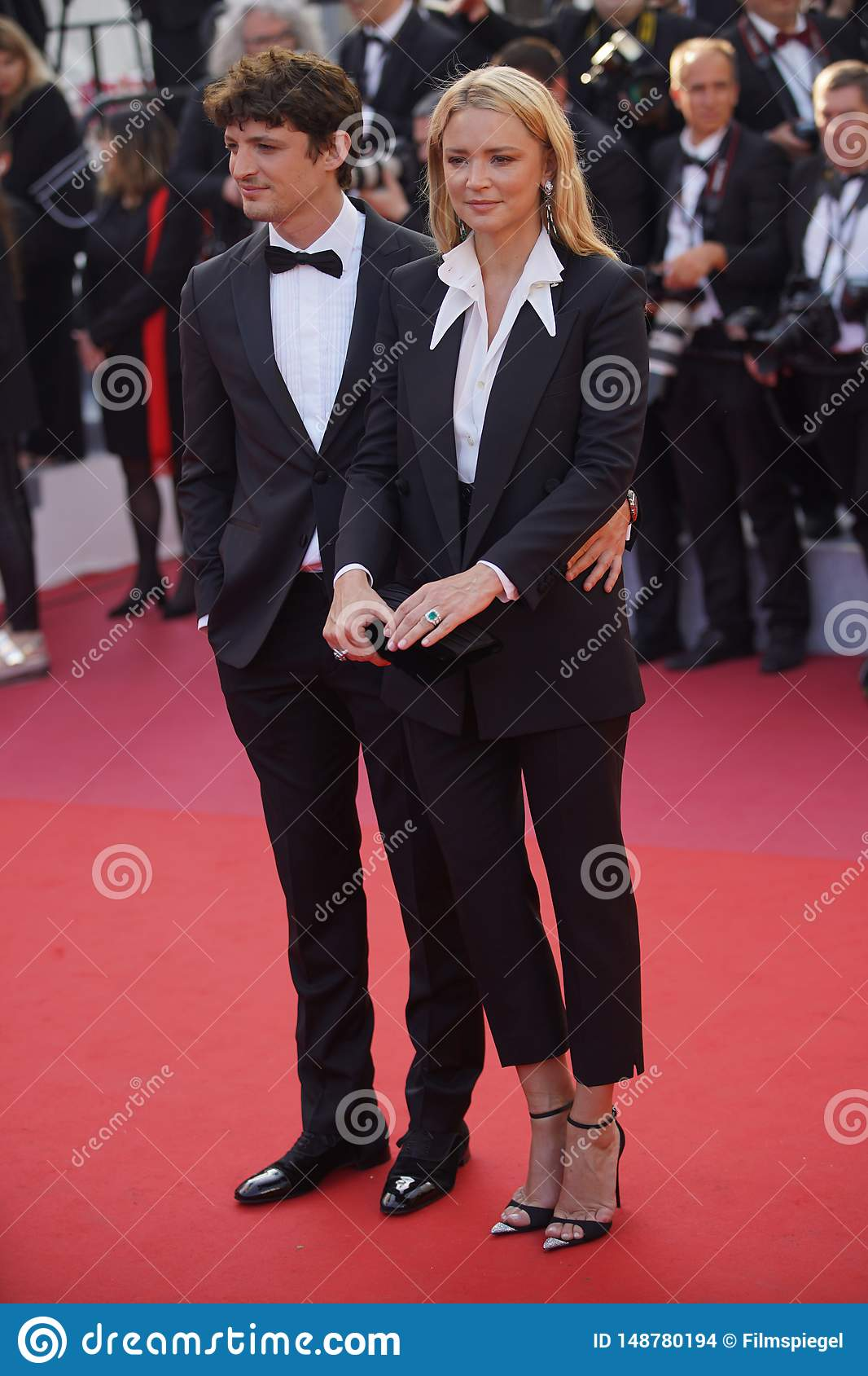 Virginie Efira And Niels Schneider Editorial Stock Image Image Of Beauty Gala 148780194