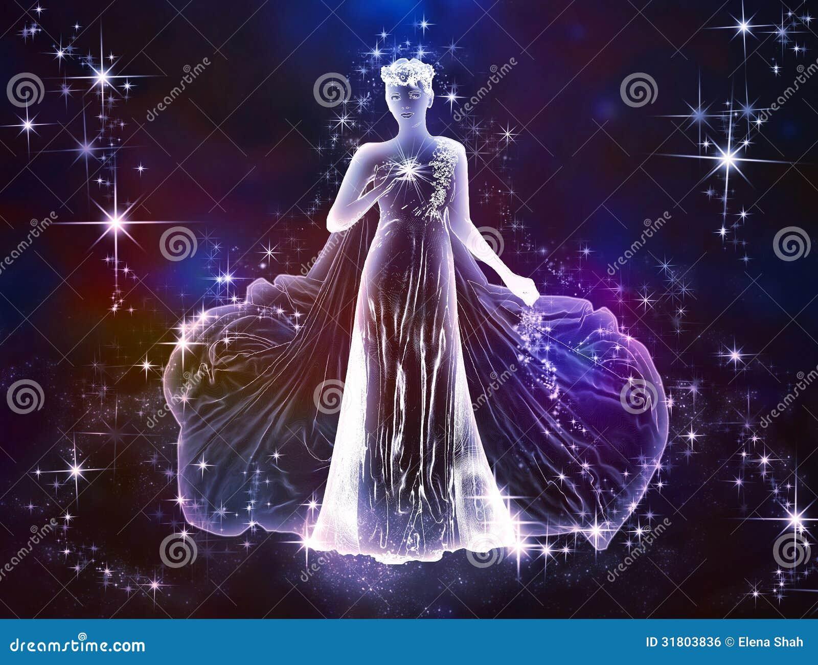 Virgo Maiden Royalty Free Stock Image Image 31803836