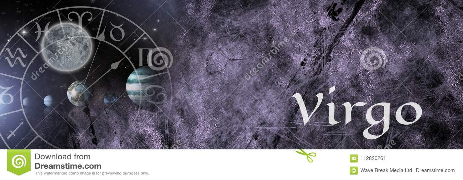 Virgo zodiaka mistyczna astrologia
