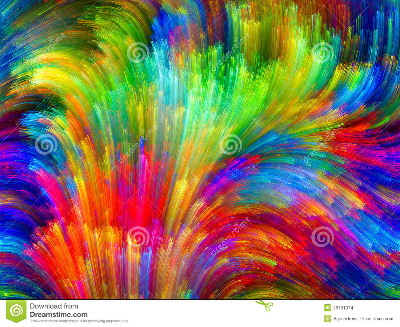 Virtual Color Stock Images Image 36701374