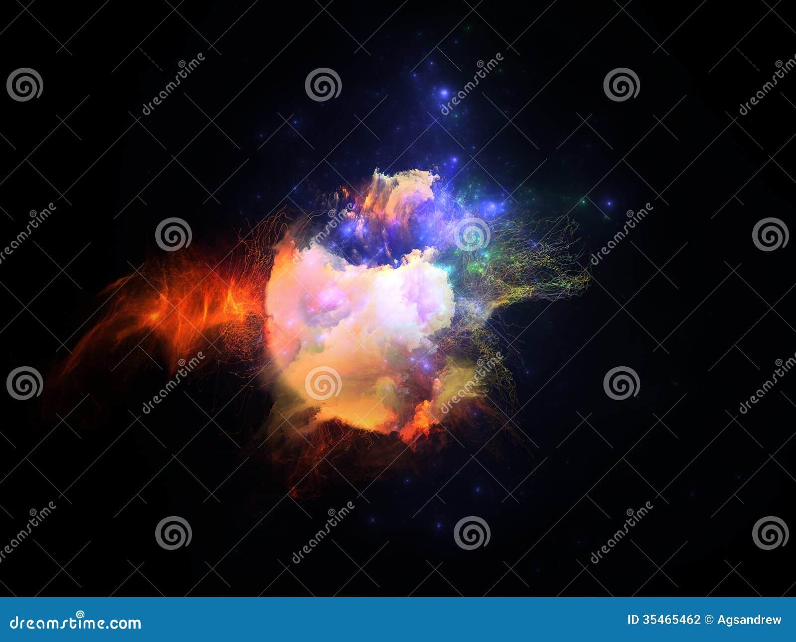 Stock Photography Virtual Fractal Nebula Series Backdrop Textures Ligh...