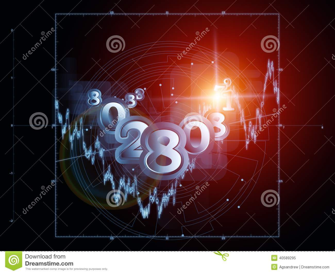 virtual mathematics mdash stock - photo #18