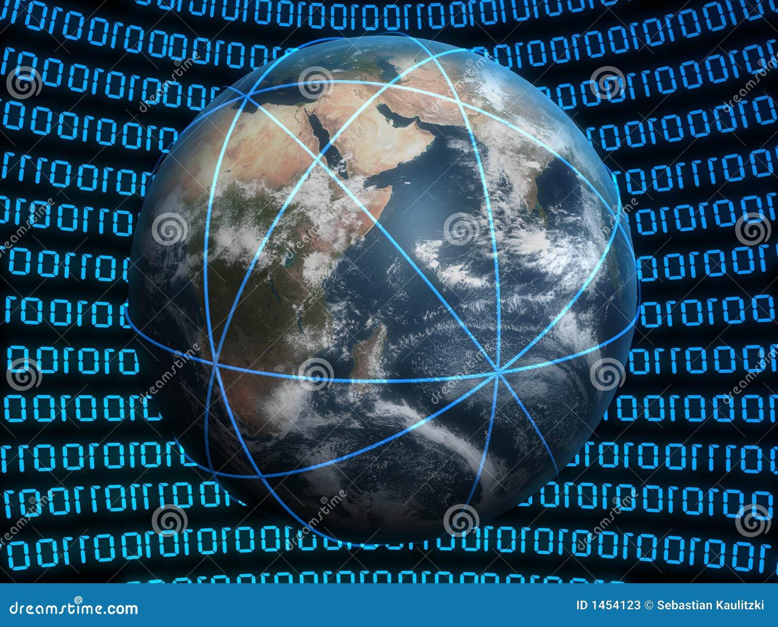 Virtual Globe Stock Photos - Image: 1454123