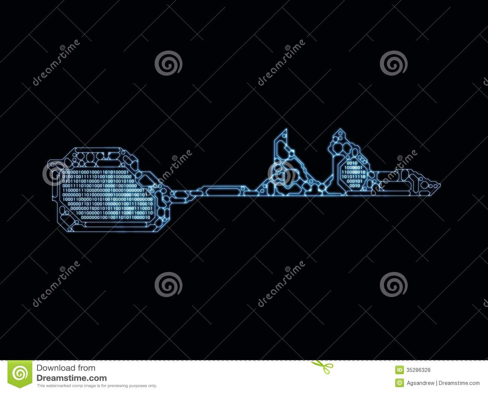 Virtual Key Code stock photo  Image of element, knowledge - 35286328
