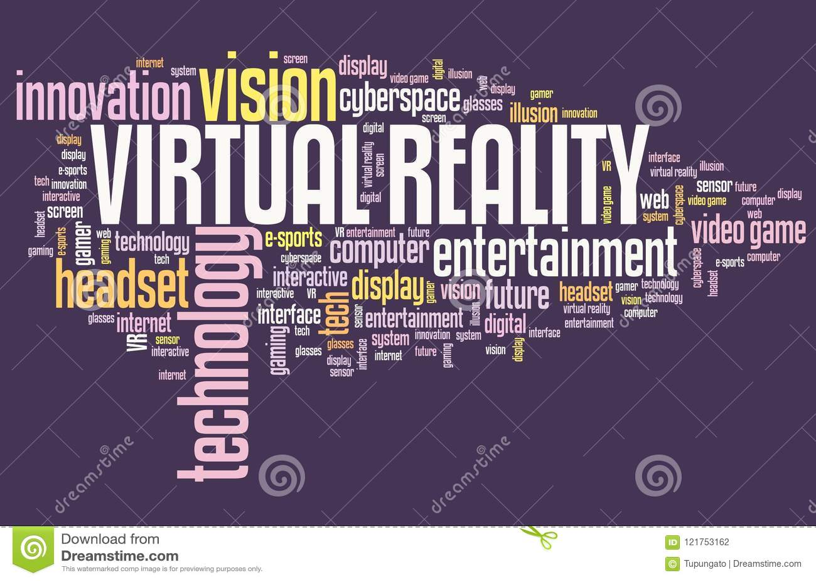 Virtual reality sign