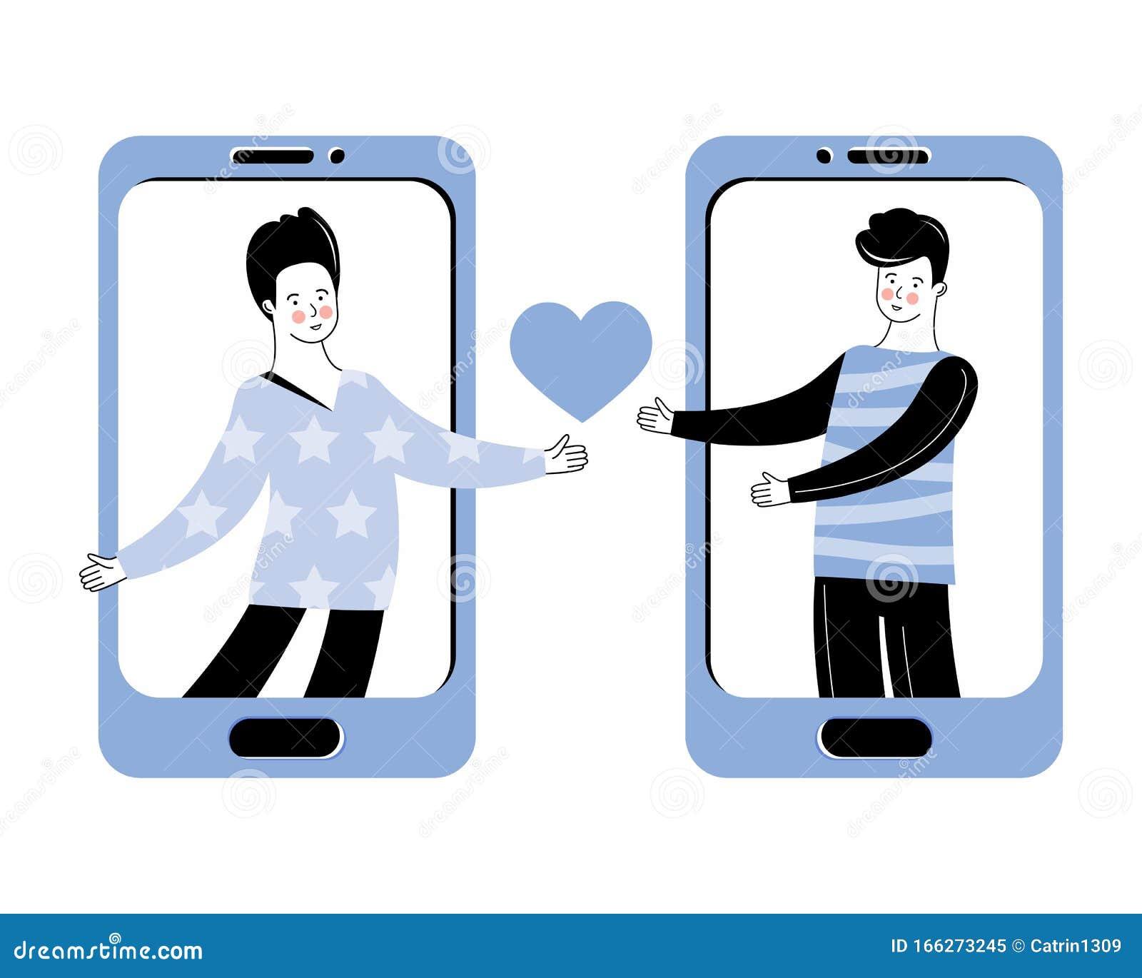 flirten via de app