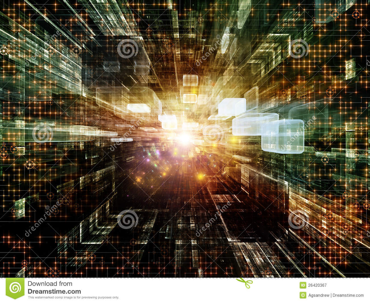 virtual space backdrop royalty free stock photography