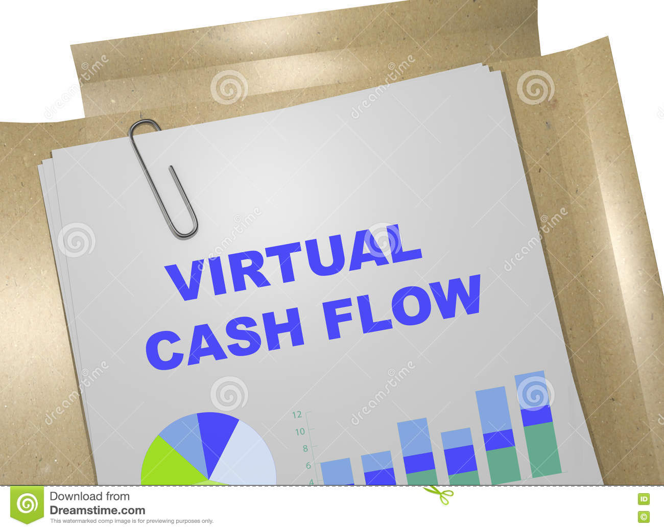 Virtueel Cash flowconcept