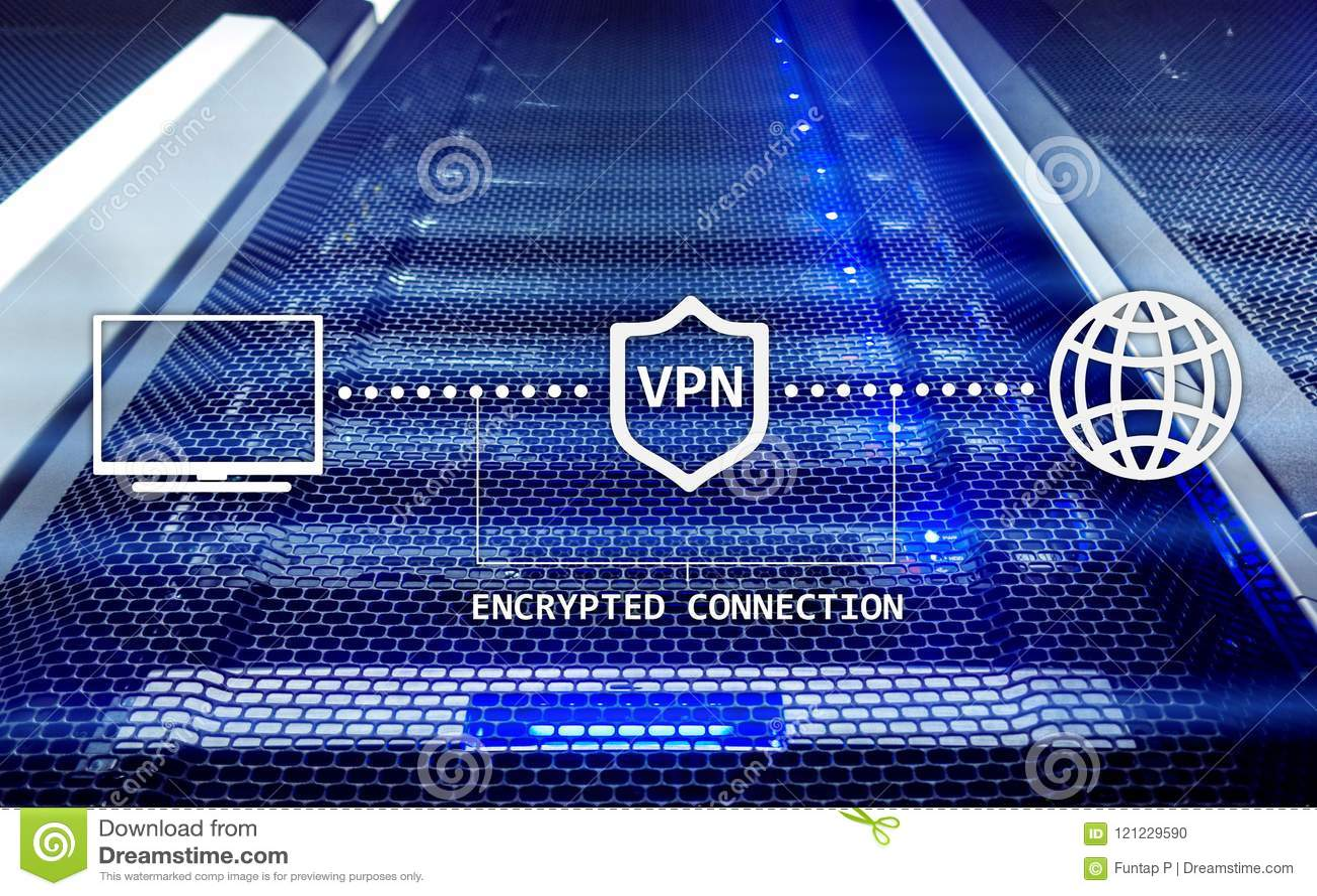 Virtueel privé netwerk, VPN, Gegevensencryptie, IP substituut