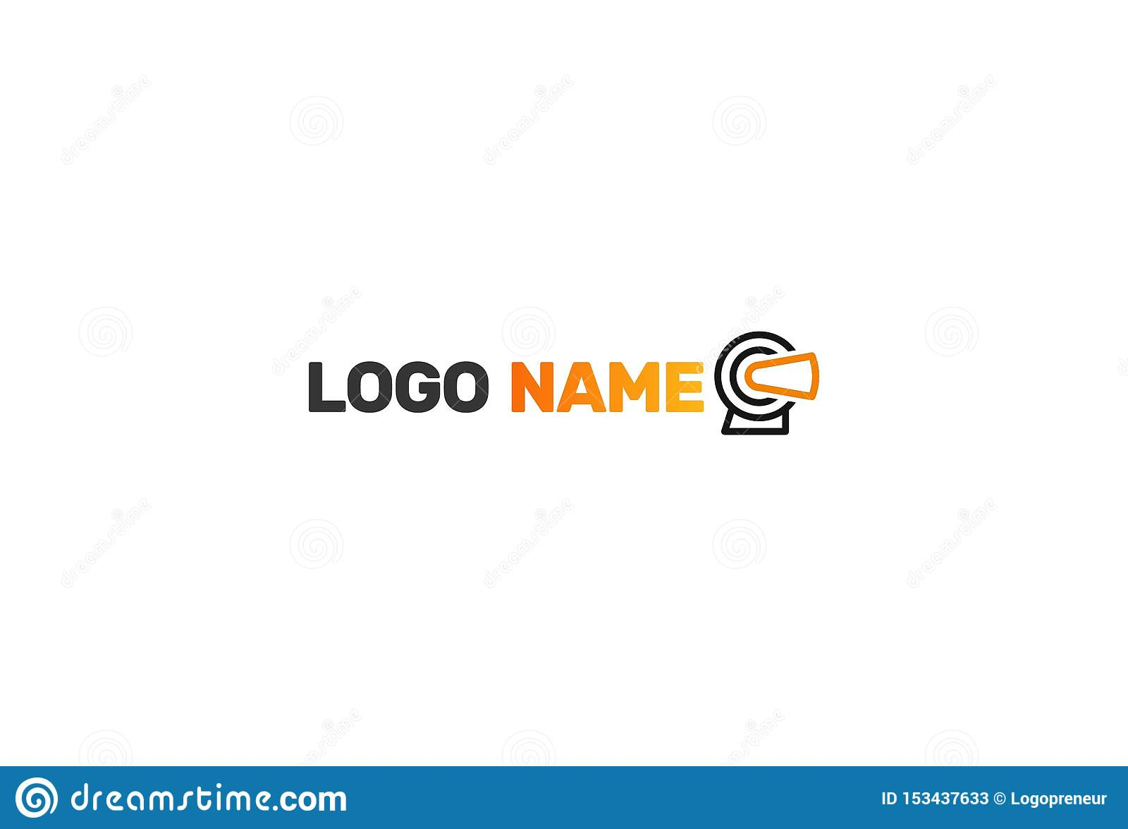 Virtuell verklighet Logo Design